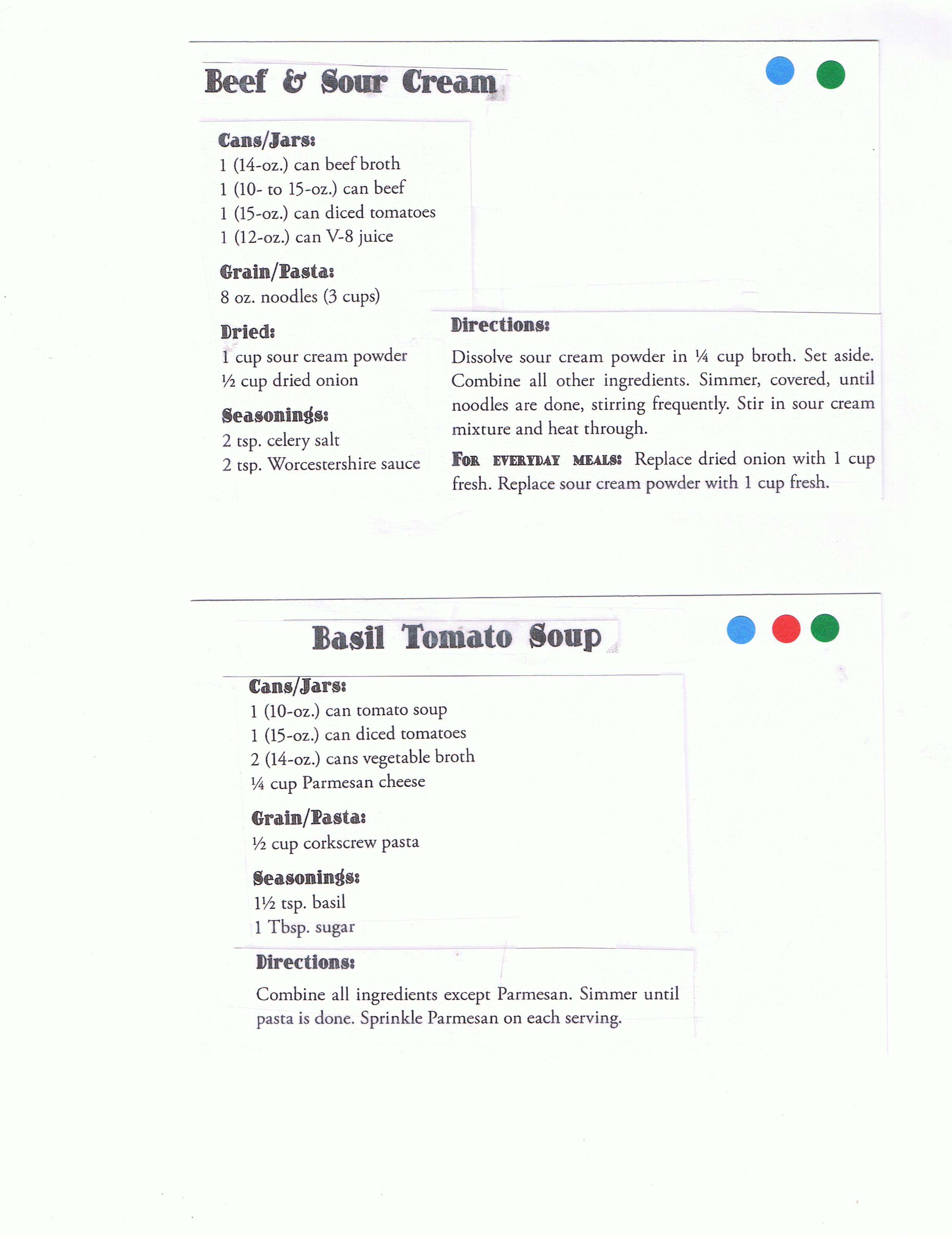 Displaying 19u0026gt; Images For - Blank Tabbed Recipe Card...