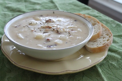 Quick Pantry Clam Chowder (8)