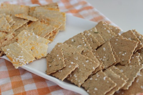 Whole Wheat Crackers (18)