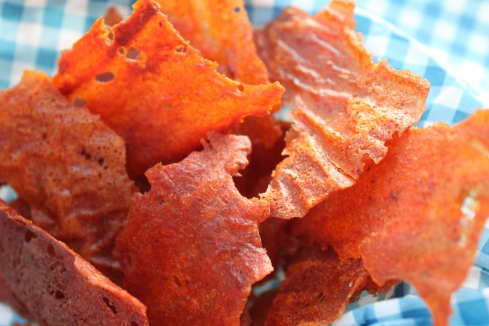 Baked BBQ Potato Chips (9)