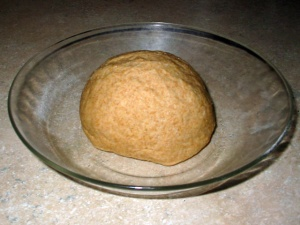Ball of kneaded Roti dough