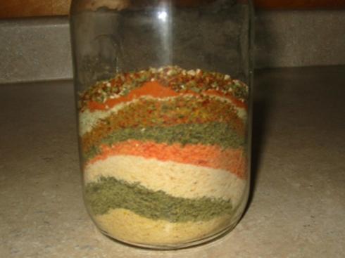 Homemade Dry Veggie Powder Mix