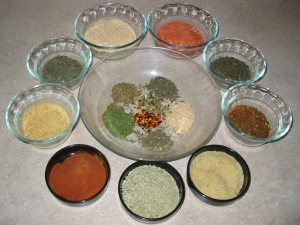 Powdered Dry Vegetables