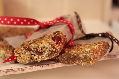 Chewy Granola Bars (1)