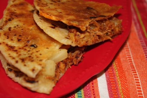 BBQ Chicken & Pineapple Quesadillas (1)