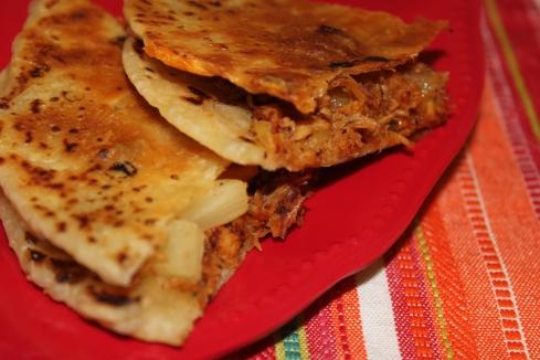 BBQ Chicken & Pineapple Quesadillas (1)