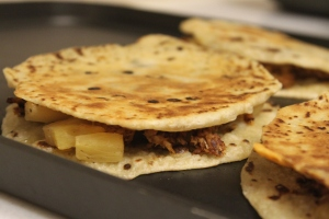 BBQ Chicken & Pineapple Quesadillas (12)