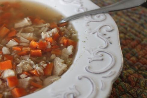 Chicken Barley Soup (5)