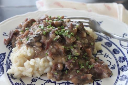 Savory Beef with Mushroom Gravy (16)