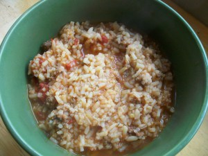 Spanish Rice Soup