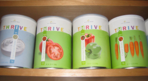 Thrive pantry cans