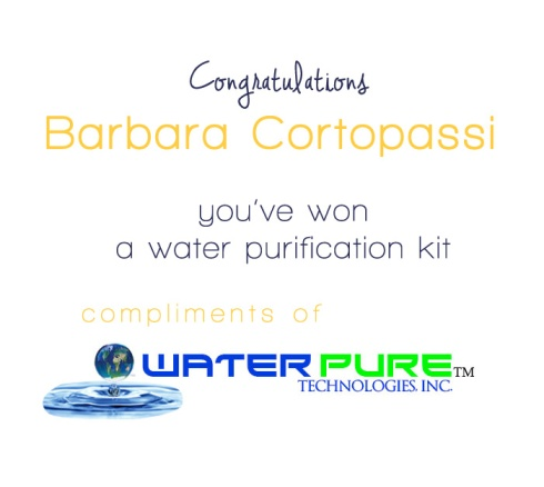 waterpure random winner