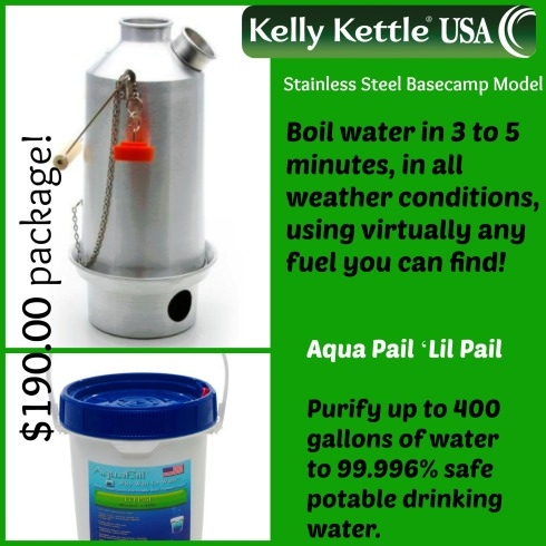 Kelly Kettle ad