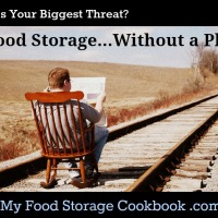 What's Your Threat:  Food Storage...Without a Plan